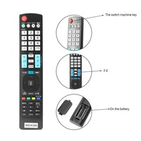 10PCS Universal Remote Control For LG Smart 3D LED LCD HDTV TV Great Replacement