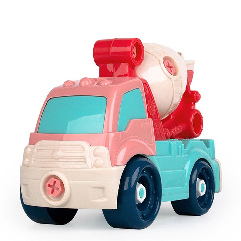 Новая модель автомобиля Пластиковый интерес Выращивание DIY автомобиль для подарка Прямая - Цвет: mixers