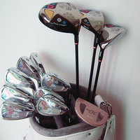 New womens Golf Clubs Maruman FL complete clubs set Golf Drive Fairway wood Golf irons Graphite Clubs shaft Free shipping