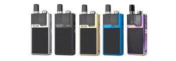 Lost Vape Orion Q – Kit de dosettes originales, avec batterie 950mAh, sortie max 17W, 2 cartouches, option Qrion Q, 2ml