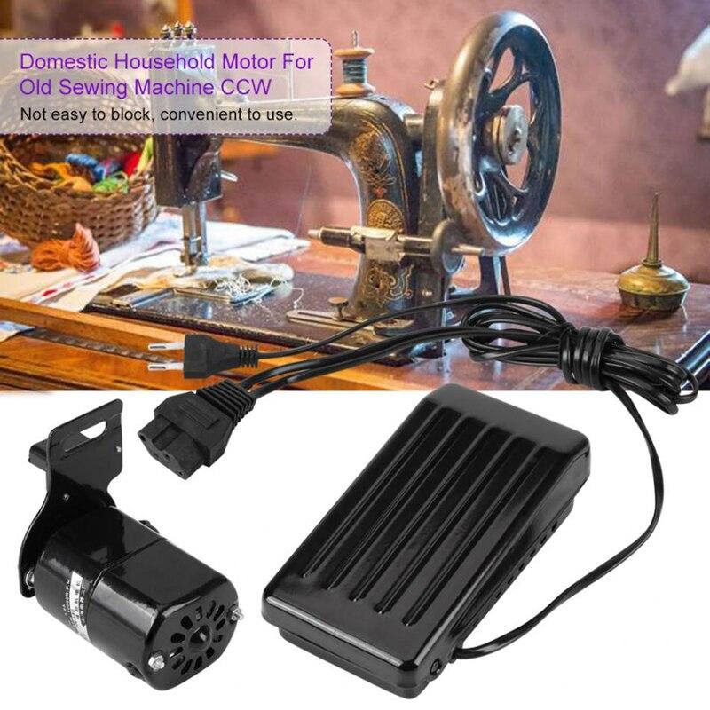 220 v/110 V 180W Motore della Macchina Per Cucire 10000 r/min per la Macchina Da Cucire con il Pedale Del Piede accessori di lavoro manuale