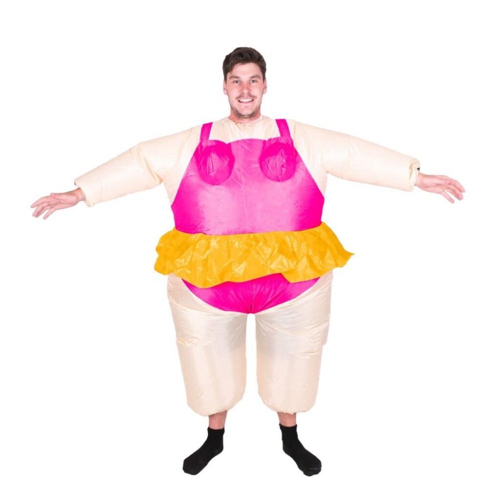 Halloween costume for Women Inflatable Ballerina Fancy Dress ...