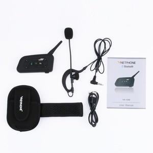 Image 5 - 2pcs Vnetphone V6C Professional Football Referee Intercom full duplex 1200M Referees headset Wireless BT Intercom Interphone