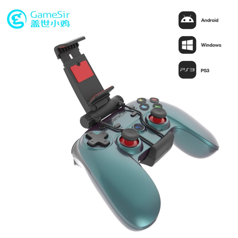 GameSir G3v Wireless Bluetooth Gampad 2.4G Vibration Game Pad Android Smart TV BOX Wired Joystick PC Gamer Gaming Joypad For PS3