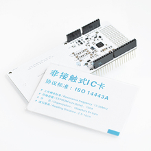 1pcs RFID NFC PN532 Shield IC Card Expansion Boards for Arduino with White Card FZ0089