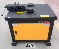 Steel Bar Bending Machine Open Up 25 32mm Rebar Bender Electric Hydraulic Reinforcing Steel Crooking