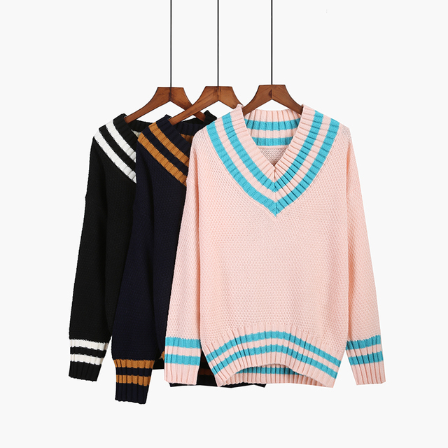 Kawaii Knitted Cotton Sweater