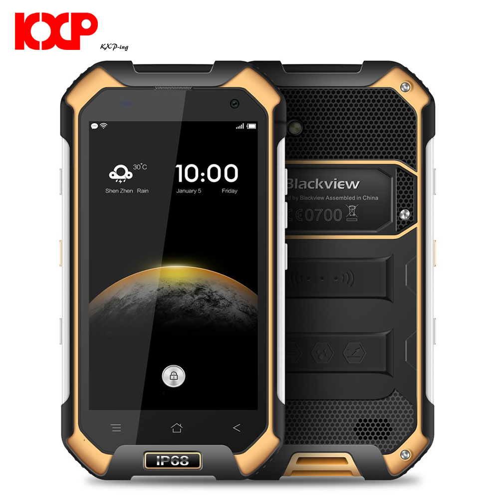 Blackview Bv6000s Waterproofsmartphone 4g Lte Ip68 47 Hd Mt6735 Lenovo S650 Android Quadcore P10000