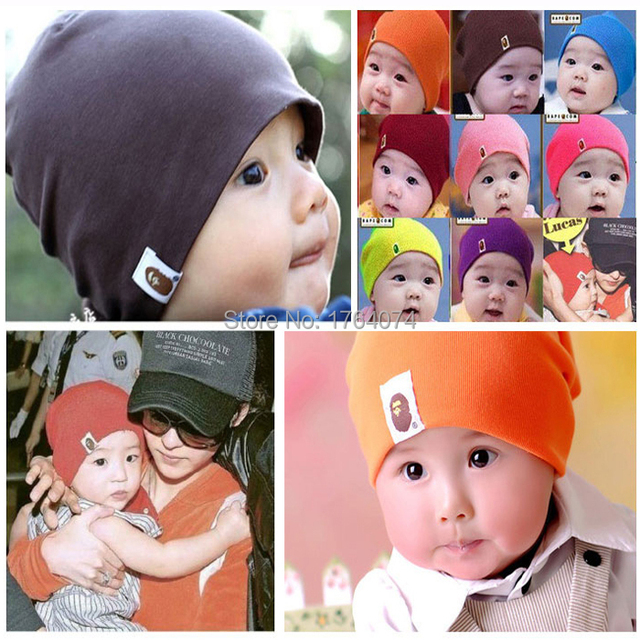 Cool star baby cotton hat cap BAPE brand 2015 hit sell unisex solid fashion  classic contracted newborn baby sweet preservation 008b8ccea33