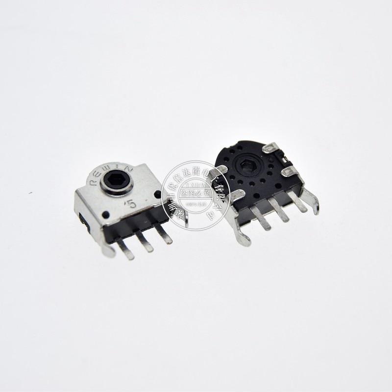 10Pcs 5MM 7MM 9MM 11MM 13MM Mouse Encoder 11mm Wheel Decoder Mouse Switch Connector H-5MM H-7 H-9 H-11 H-13 mm Repair Roller Hot Davitu Electrical Equipments Supplies Pins: 5MM 10PCS