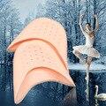 Un par de silicona gel pad para bailar ballet cuidado de los pies almohadillas para los dedos cubierta suave aliviar el dolor del antepié cojín cuidado de los pies fricción