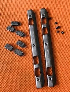 Image 1 - Verwendet Original telefon Front rahmen trimmen + tasten + schrauben für Ulefone Rüstung 2 Helio P25 Octa Core 5,0 FHD Kostenloser Versand