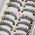 Faux Cils Natural Black False Eyelashes Think Full Strip Long Lashes 3d Mink Wimpers Extension Eyelash Maquillaje Tool Kit D-31