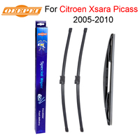 QEEPEI Front And Rear Wiper Blade No Arm For Citroen Xsara Picasso 2005 2010 High Quality