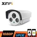 XINFI HD 1080 P Видеонаблюдения POE Камера 2.0 МП Открытый Водонепроницаемый сети IP CCTV камеры P2P ONVIF 2.0 ШТ. и телефон удаленного просмотра