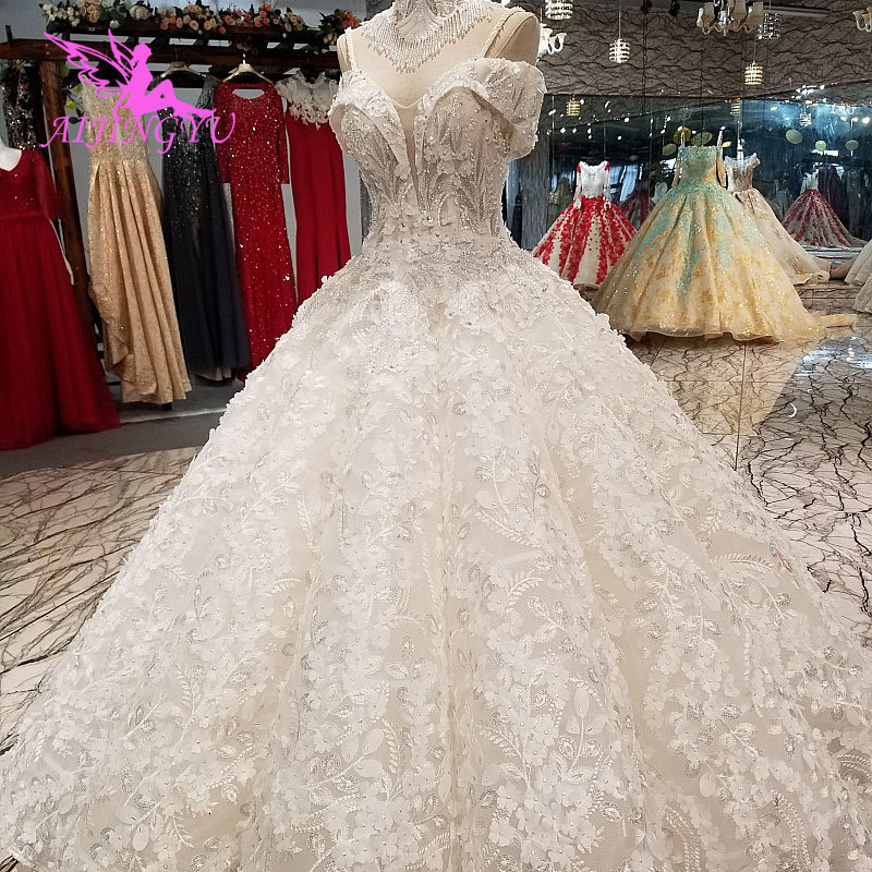 AIJINGYU Fashion Wedding Dresses Best
