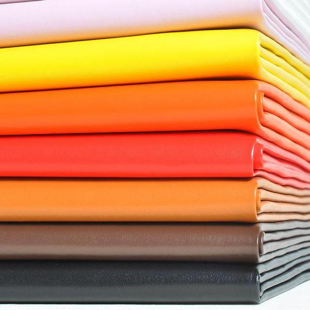 1 Meter Soft Nappa Leather Fabric Napa Pu Leatherette Microfiber Material For Car Seat Patch