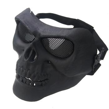 Face Mask Ghost Resin Skull Wraps Skeleton Multi reality CS Face Mask Ski Bike Motorcycle Outdoor Sports Camping Cycling Bandana new ghost skull mask cs balaclava for military fans cycling face mask anti uv rays rib fabric quick dry silk screen printing
