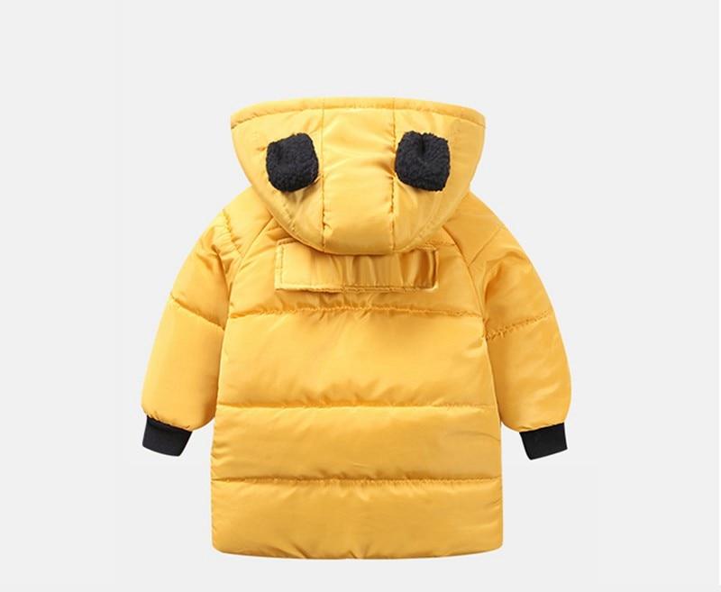 CROAL CHERIE Girls Jackets Kids Boys Coat Children Winter Outerwear & Coats Casual Baby Girls Clothes Autumn Winter Parkas (1)
