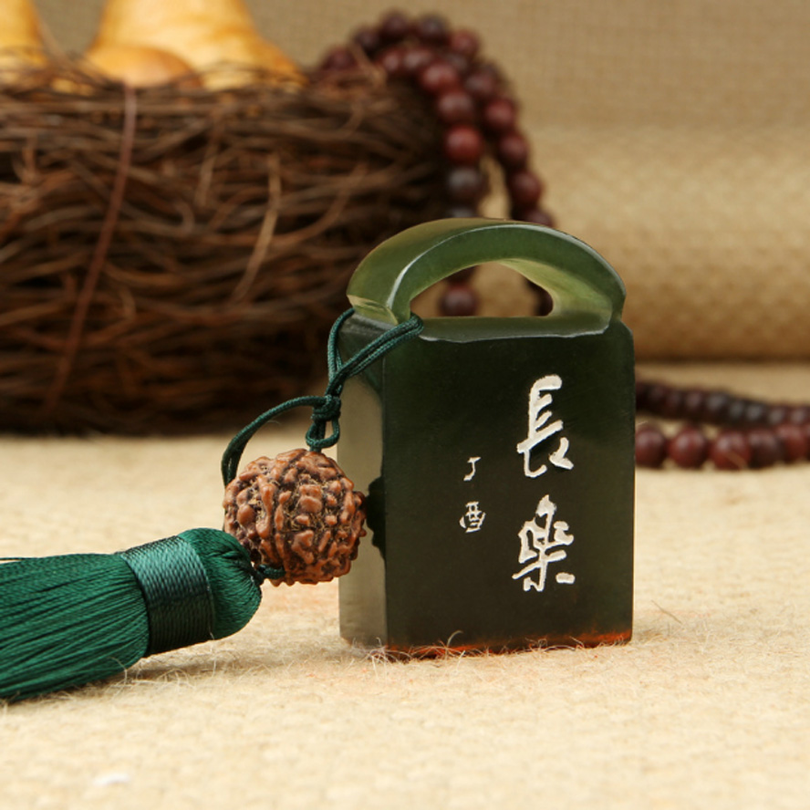 High Quality Chinese Traditional Seal Stamps made by Stone Labels Indexes Stamps Carving Seal Badge Holder & Accessories