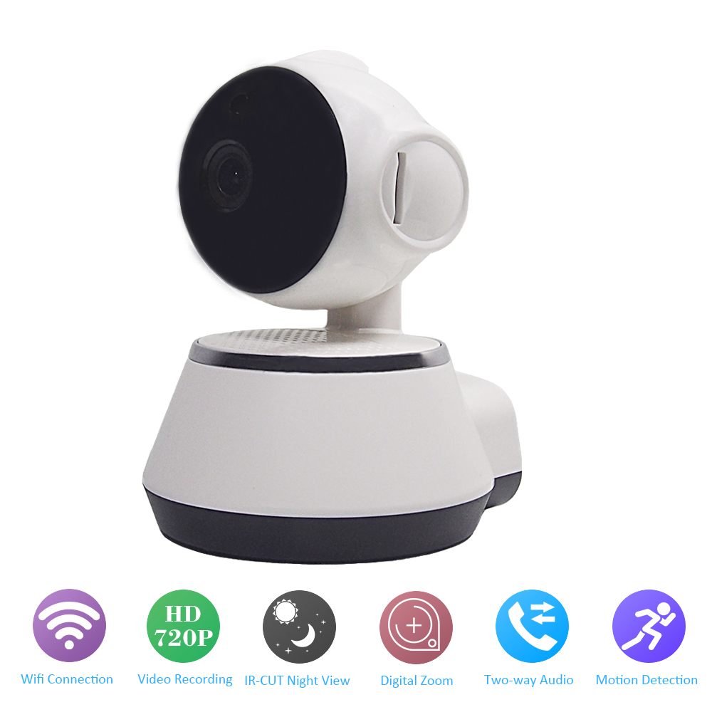 YSA MINI Wifi IP Camera Wi-fi 720P Wireless Two-way Audio P2P CCTV Network Camera Home Security Motion Detection Baby Monitor 720p ip camera wi fi pan tilt baby monitor wireless network security cctv camera plug and play two way audio day night hiseeu