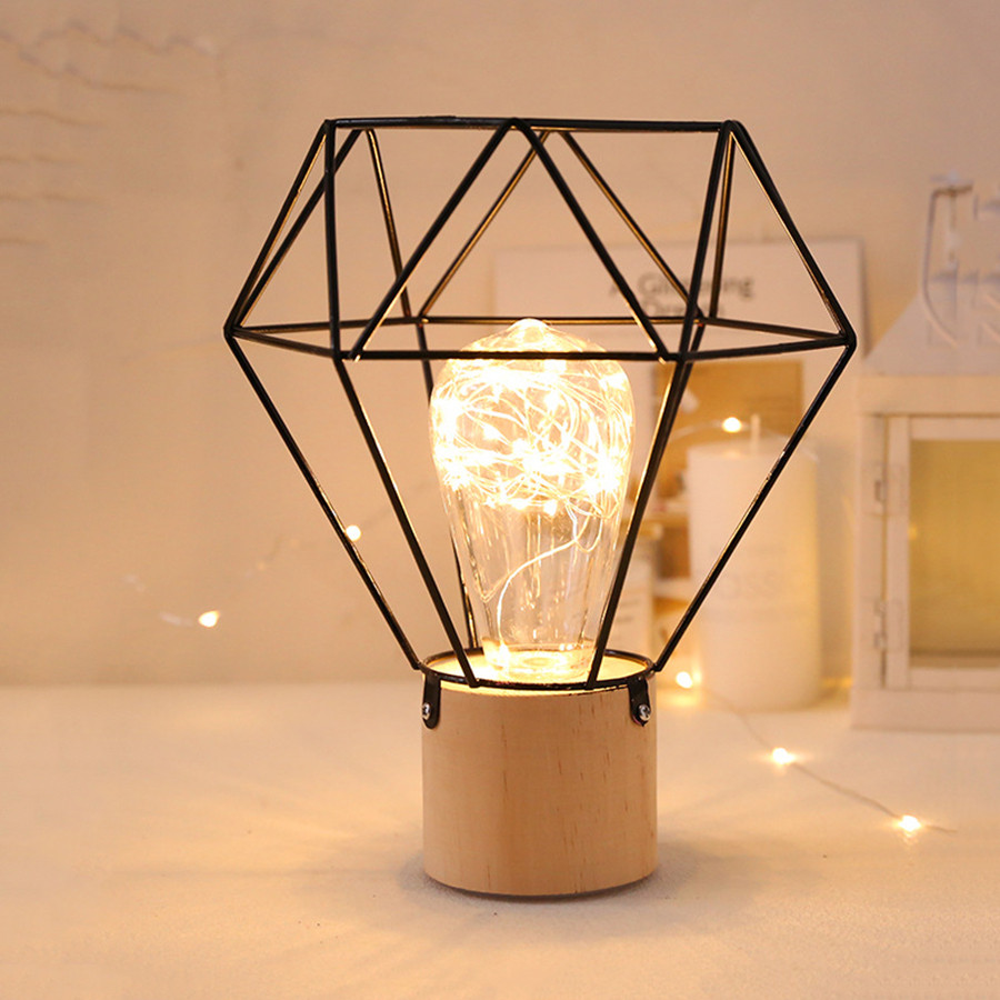 Thrisdar ins nordic minimalista cobre lâmpadas led