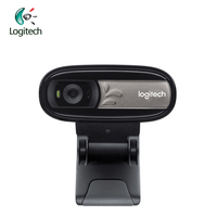 Logitech C170 Camera With Microphone HD Computer WebCam USB 2 0 For PC LaptopTV Laptop Desktop