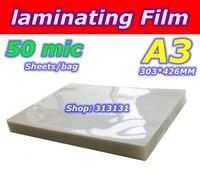 50mic A3 size photo Laminator laminating film