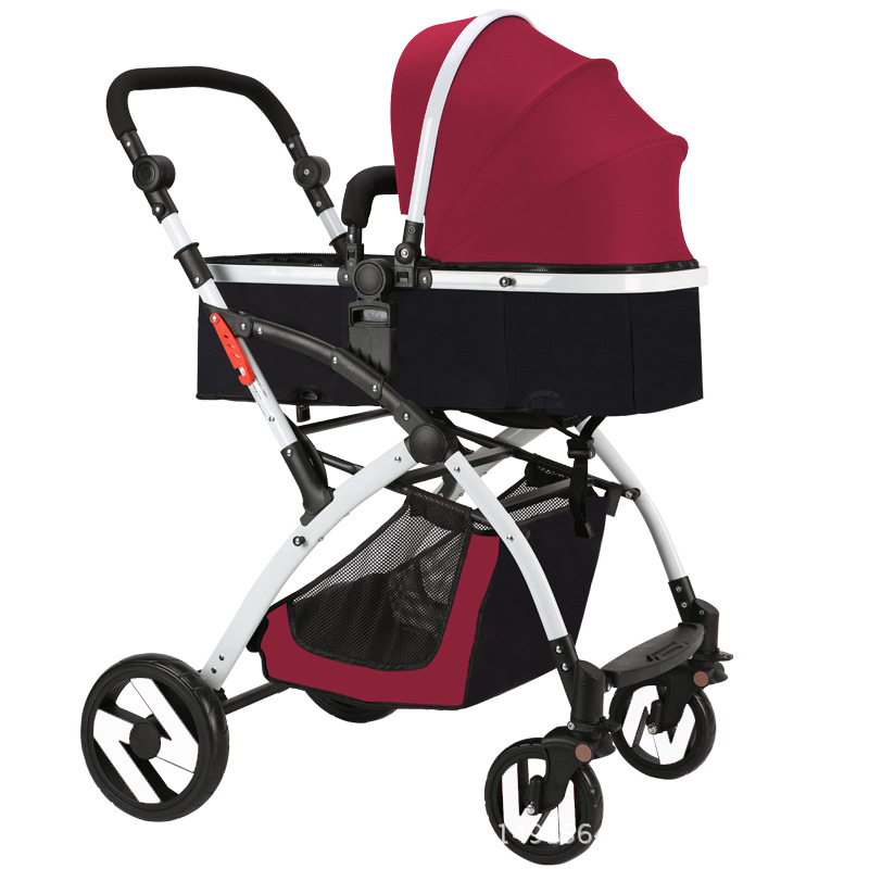 Ebola Baby Stroller High Landscape Can Sit And Lie In Winter And Summer Seasons Folding Pushchair Baby Stroller high landscape baby stroller can sit and lie in a folding baby four seasons universal newborn baby summer baby stroller