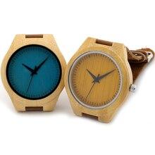 Бобо Птица мужские часы лучший бренд дизайнер роскошных дерево бамбук кварцевые часы мужчины набрать в деревянный случай как подарок