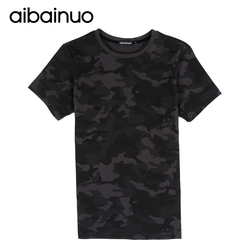 Camouflage Army Military T-shirts Men