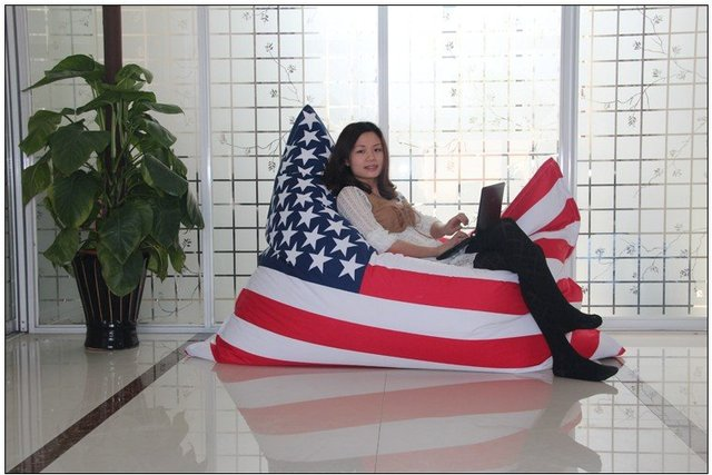 Exceptionnel USA Flag Bean Bag Cover Bean Bag Chair On Sale Cover Only