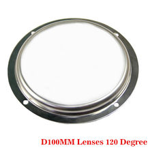 D100mm Glass lenses Beam Angle 120 degree for Cree CXA3590 CXB3590 On led street High Bay flood Lamp(China)