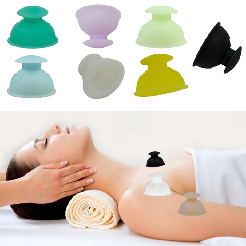 Muscle Cupping: Cupping Relive Muscle Joint Pain Dredge Meridians No Burns