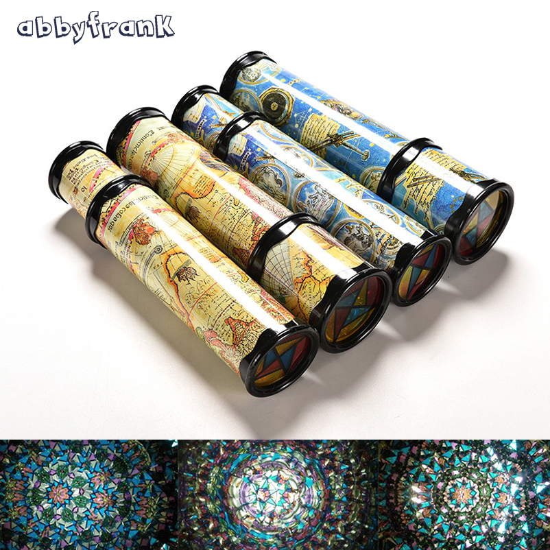 Abbyfrank Magical Kids Kaleidoscope Toys Early Kids Educational Toys Rotatable Kaleidoscope Children Gifts Christmas Gifts