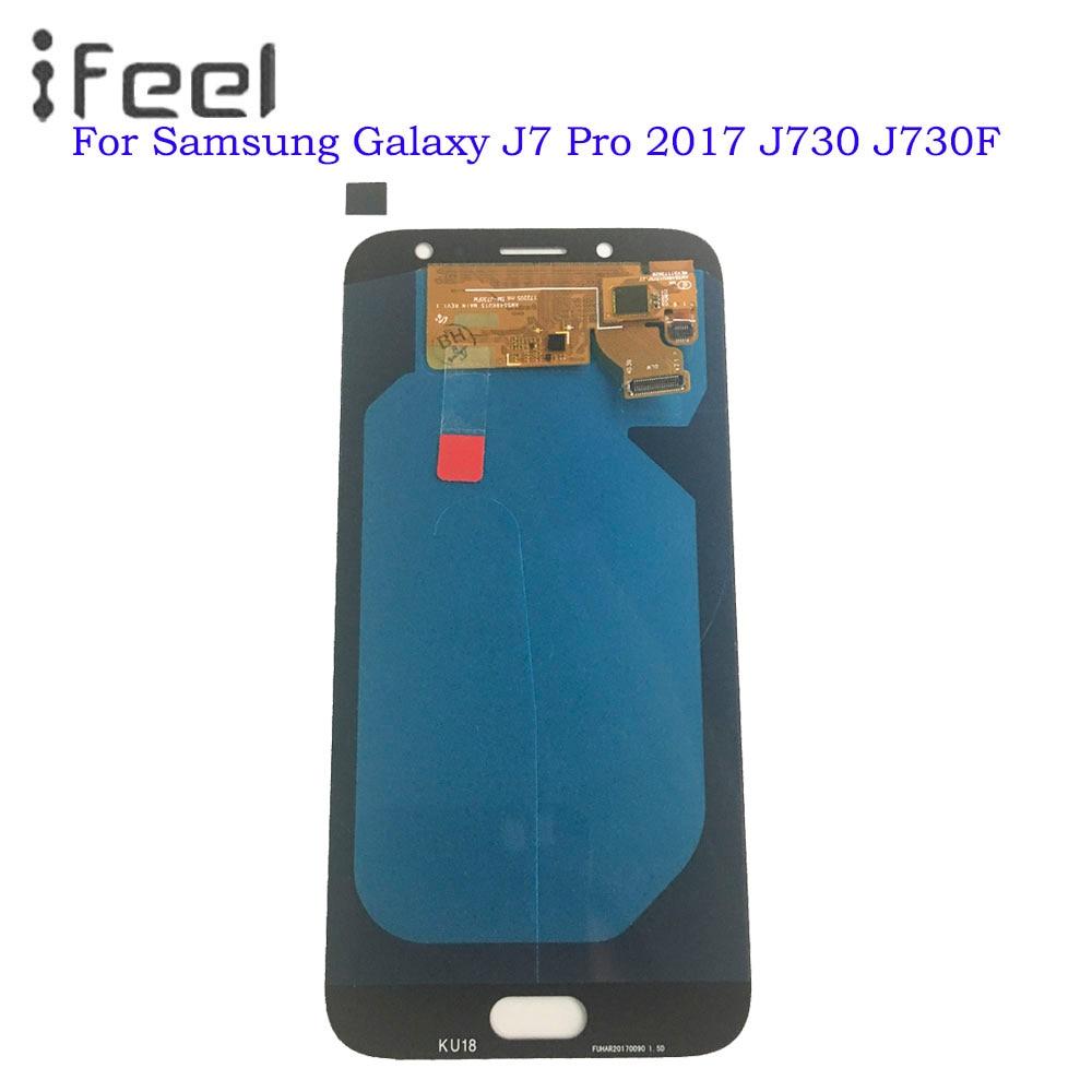 Super Amoled lcd pour Samsung Galaxy J7 Pro 2017 J730 J730F écran LCD écran tactile numériseur assemblée remplacement