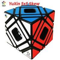YuXin 5x5 Çarpık Çok Küp Sihirli Küp Zhisheng Yuxin Eğik Beş Sihirli Küp Oyuncaklar Çocuklar Için Sihirli Cubo magico