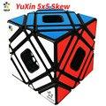 YuXin 5x5 Skew Cubo mágico multicubo Zhisheng Yuxin oblicuo cinco Cubo mágico juguetes para niños Cubo mágico mágico