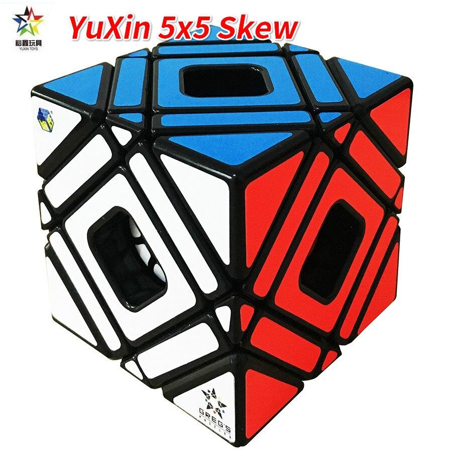 YuXin 5x5 Skew Multi Cube Magique Cube Zhisheng Yuxin Oblique Cinq Cube Magique Jouets Pour Enfants Magique Cubo magico