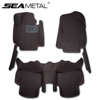 SEAMETAL LHD For Hyundai Tucson 3th 2016 2017 Custom Car Floor Mats Leather No Smell Car