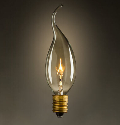 LightInBox  Fixtures Glass LED Edison Bulb 40W 220V Pendant Lamps Vintage Retro E14 Incandescent Light Lamp Bulb