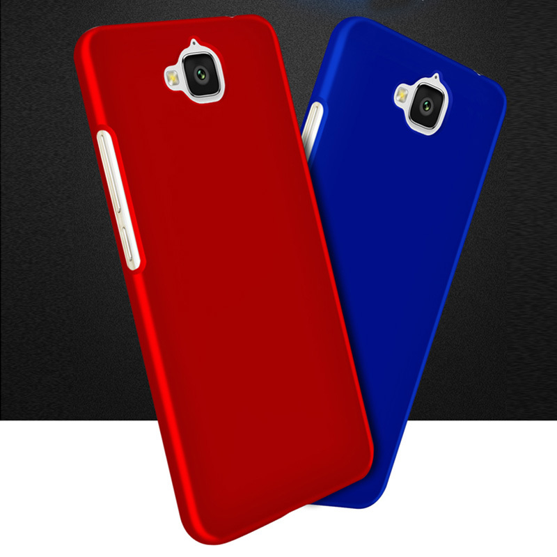 For Fundas Huawei Honor 4C Pro Case Luxury Frosted Hard Plastic Case For Huawei Y6 Pro Case Back Cover Matte Phone Cases TIT-L01