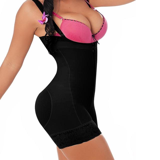 660f12ecb5 Woman Slim Underwear One Piece Bodysuit Shapewear Lady Underbust Body  Shapers Plus Size Waist Trainer DropShipping