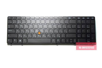 New Replacement RU Russian FOR HP EliteBook 8560w 8570w laptop keyboard backlight benchmark