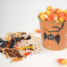 Pack of 18 Creative Halloween Candy Bag Fun Treat Bags Snacks Toys or Trinkets Festival Supplies