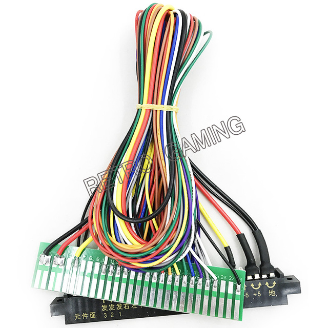 US $12.45 |28p 50cm Jamma Extender harness for arcade game board JAMMA on