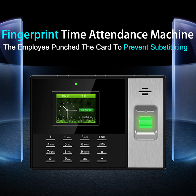 Eseye Fingerprint Time Attendance System Access Control TCP IP Biometric Attendance System Time Clock Fingerprint Reader