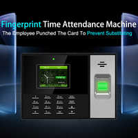 Eseye sistema de asistencia de tiempo de huella digital Control de acceso TCP/IP SISTEMA DE ASISTENCIA biométrica reloj de tiempo lector de huellas dactilares USB