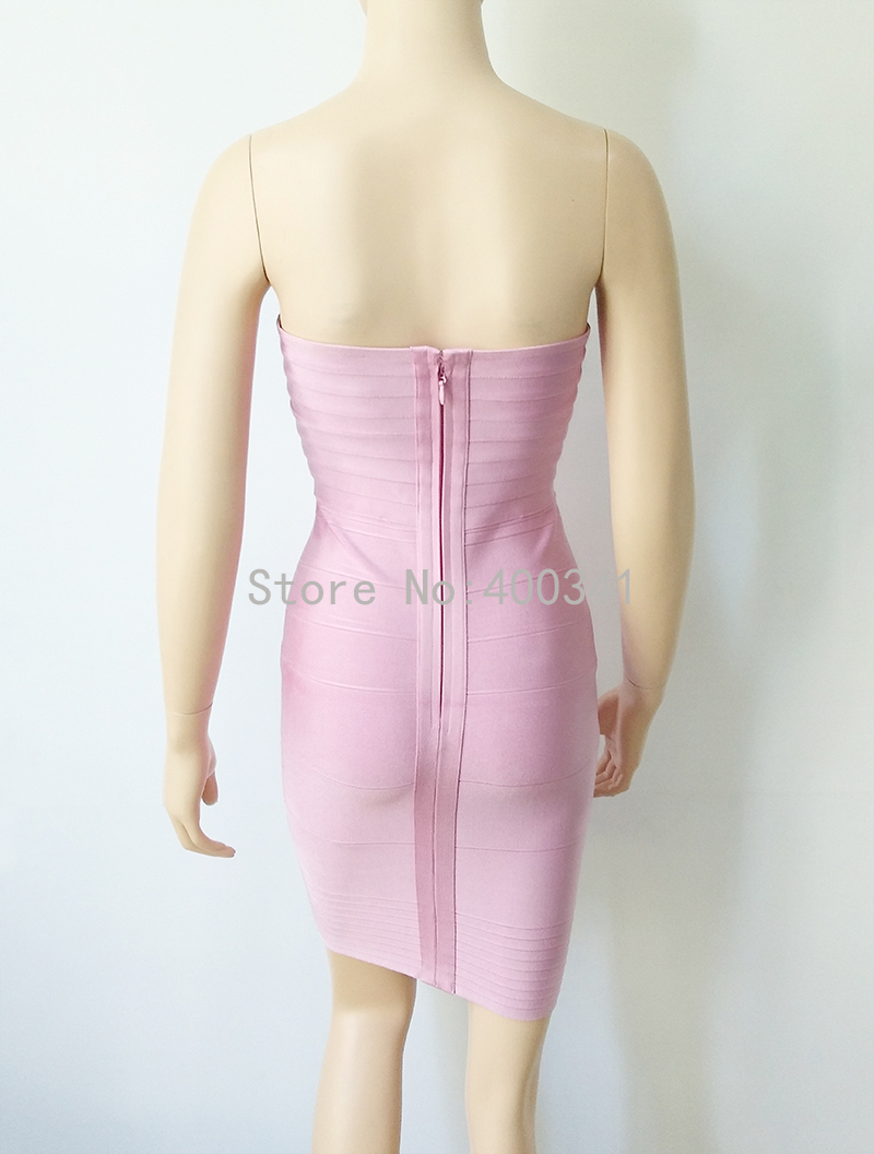 Kim kardashian vestido mujeres strapless celebrity HL vendaje ...