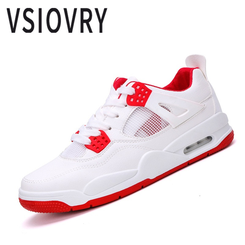 VSIOVRY Men Running Shoes Mesh Breathable Cushioning Air Cushion Men Sneakers Spring Summer Outdoor Walking Jogging Sport Shoes